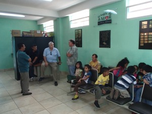A church run medical clinic