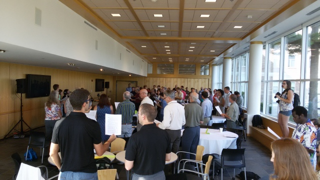 The Lausanne Movement conference on creation care. 100 scientists, theologians and practitioners met to discuss the role of the church and missions agencies in caring for God's creation.