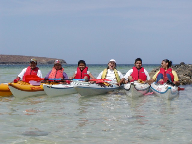 This is what the kayaking ministry looks like