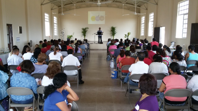 This is the domestic violence conference put on by Emanuel, our sister church in San Jose del Cabo.