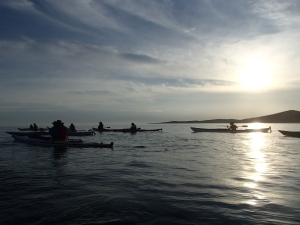 Kayaking gives us hour after hour to talk with people and develop freindships.