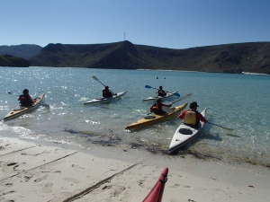 This was the official relaunch of the sea kayaking ministry.